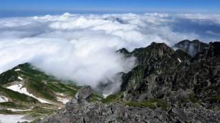 北アルプス 剱岳・立山連峰 (Time Lapse Video, Mt. Tsurugi, Mt. Tateyama at Japanese Alps)