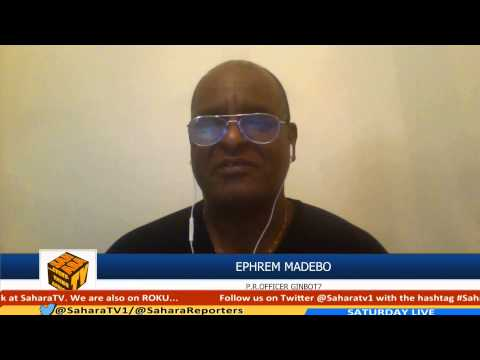 Ephrem Madebo on Sahara TV said I Expect Nothing From 2015 Ethiopia Elections
