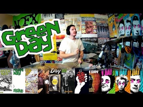 Green Day: A 5 Minute Drum Chronology