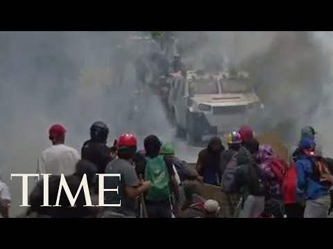Embattled Venezuelan President Nicolas Maduro Enters A Crucial Showdown With His Foes | TIME