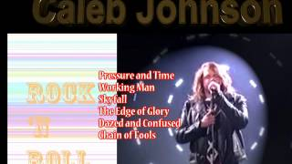 Head to http://amzn.to/1nuZ97K for mp3 versions of Caleb's songs. A brief bio of Caleb Johnson on American Idol.
