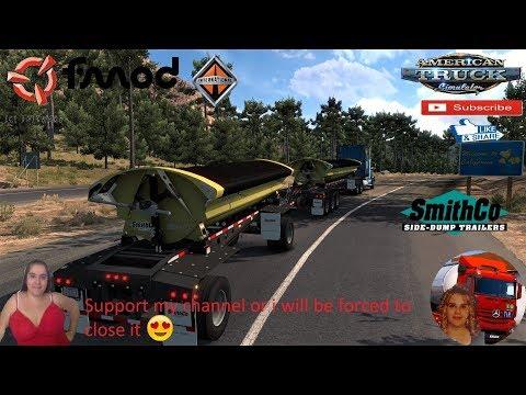 SmithCo Side Dump Double Trailer v1.2 1.36