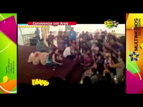 Arely - En Acbatelo Arely habla de la convivencia con sus fans.
