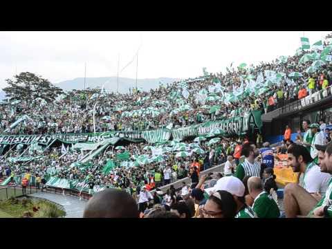 SALIDA DE LA INSTRUMENTAL LOS DEL SUR CLASICO # 276 - Los del Sur - Atlético Nacional