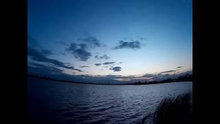 time lapse พระอาทิตย์ลับขอบฟ้า บึงหนองโคตร ขอนแก่น