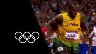 Jamaica Break 4x100m World Record At London 2012 | Olympic Records