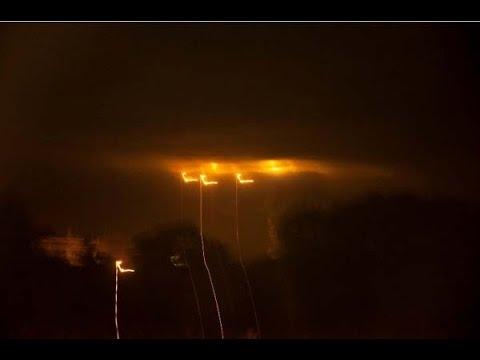 Mysterious UFO / OVNI Lights Over Pampanga, Phillipines / Multiple Witnesses!