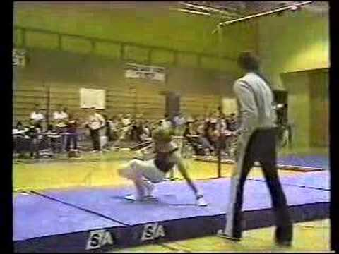 KEYT NEWS in the 80's gymnastics