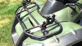 1. 2007 Honda Rincon 680 ATV