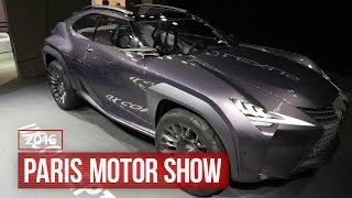 Lexus flips the SUV inside out by Roadshow