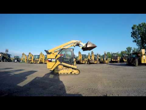 CATERPILLAR CARREGADEIRAS TODO TERRENO 289D equipment video wpokKg4Wu7k