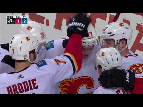 Video: Calgary Flames vs New York Islanders | NHL | Feb-11-2018 | 20:00 EST