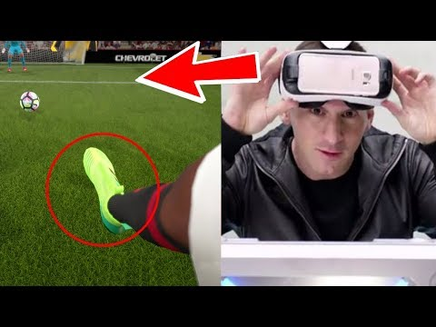 FIFA 18 VIRTUAL REALITY GAMEPLAY - FIFA 18 VR MODE (LEAKED)
