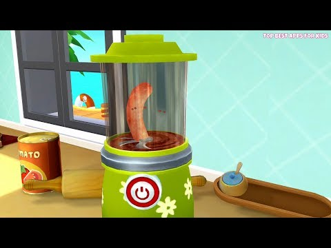Kids Learn To Prepare Tasty Food With 🍳 Dr. Panda's Restaurant 2