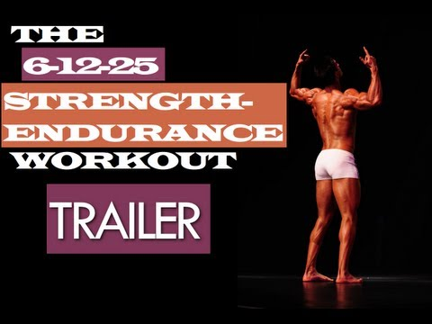Trailer Of The 6-12-25 Strength-Endurance Muscle Building Workouts