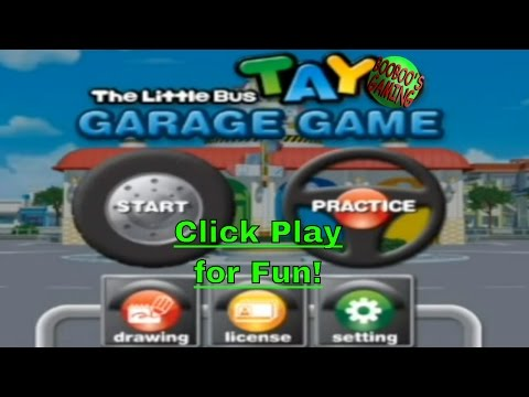 Tayo the Little Bus Garage Game Level 0 / Android Game / Free Educational Games for Kids