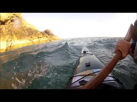 Kayaking the Bishops and Clerks and Ramsey 26 9 15