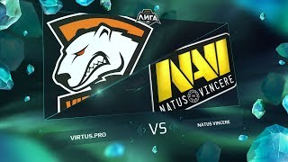 VP vs NaVi, game 1