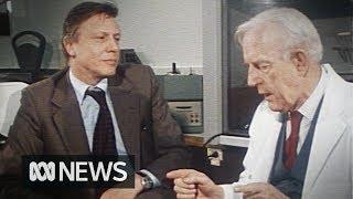 David Attenborough and Harvey Carey debate evolution and creationism (1980) | RetroFocus