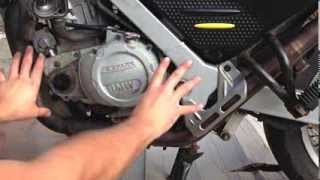 8. BMW F650GS Motorcycle Clutch Change Step By Step