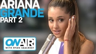 Ariana Grande Wants Jim Carrey for iHeartRadio Music Awards | Interview | On Air with Ryan Seacrest