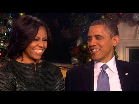ABCNews - Part 1: Barbara Walters talks with the president and Mrs. Obama about their marriage.