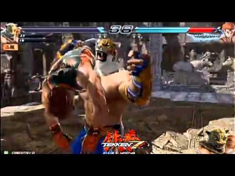 (AC) TEKKEN 7 Rage Arts movie (New System)