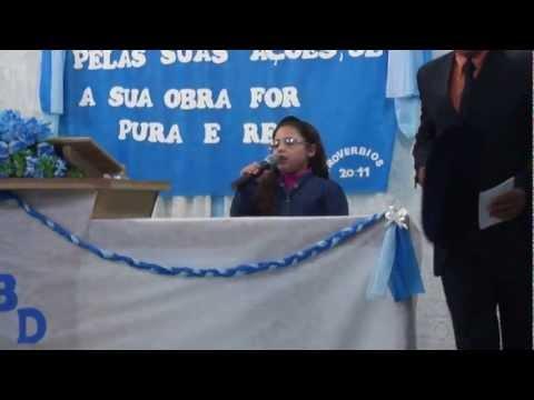Gabriele cantando em Progresso (Sans Souci)