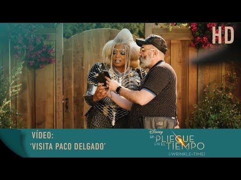Un Pliegue en el Tiempo - Vídeo: Visita Paco Delgado?>