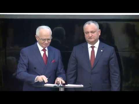 """Președintele Igor Dodon a participat la conferința """"Federația Rusă și Republica Moldova: 25 de ani de la stabilirea relațiilor diplomatice"""""""