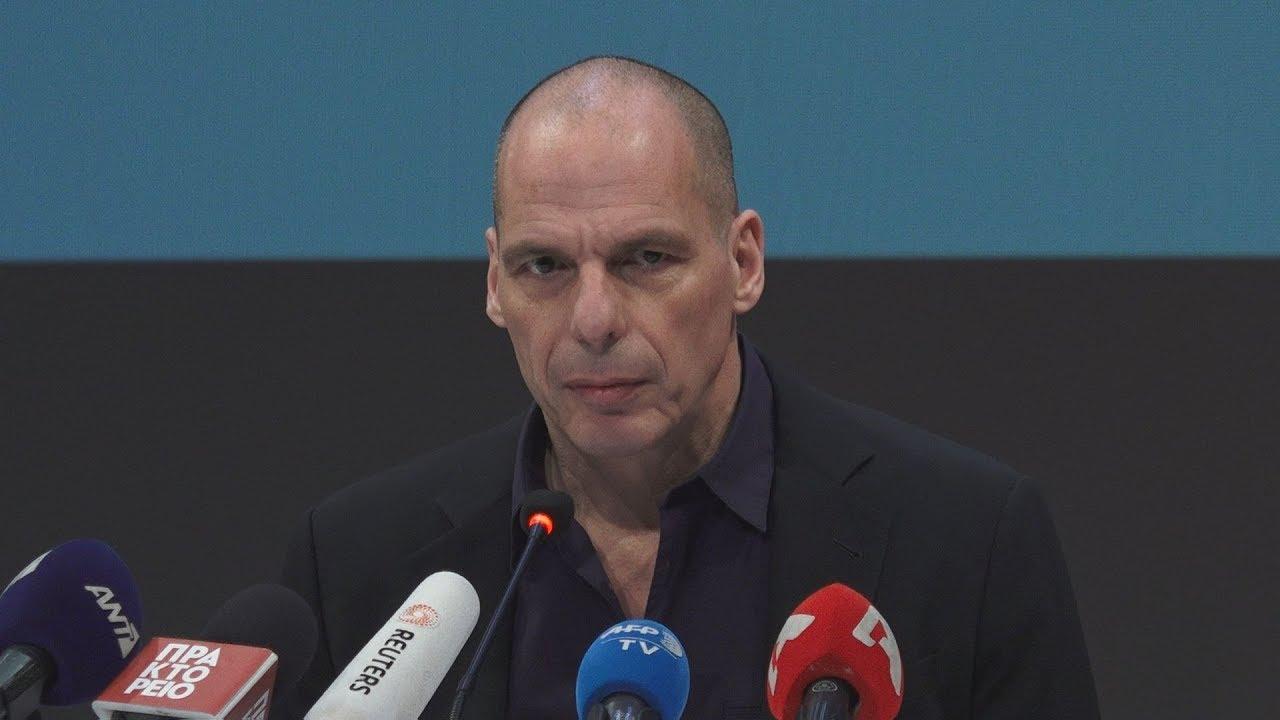 Νέο κόμμα ανακοίνωσε ο Γιάνης Βαρουφάκης