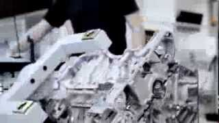 Mercedes-Benz SLS AMG Engine Building