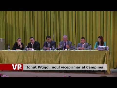 Ionuţ Piţigoi, noul viceprimar al Câmpinei