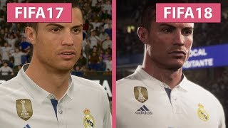 FIFA 18 vs. FIFA 17 Screenshots & Trailer Comparison