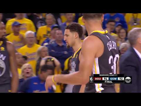 Thrilling Ending - Game 4 - Rockets vs Warriors