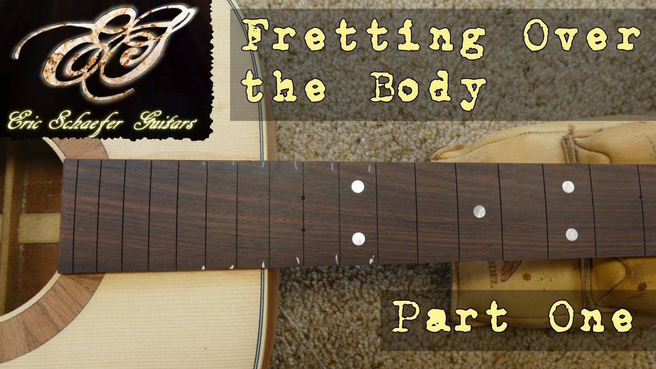 Installing the Frets (Ep 21 – Acoustic Guitar Build)