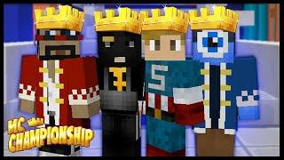 MINECRAFT CHAMPIONSHIP!!   Ft. CaptainSparklez, Krinios & Krtzyy   Team Blue Bats!