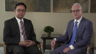 Julian Smith, Adviser & Agung Wiryawan, Director - Capital Projects & Infrastructure