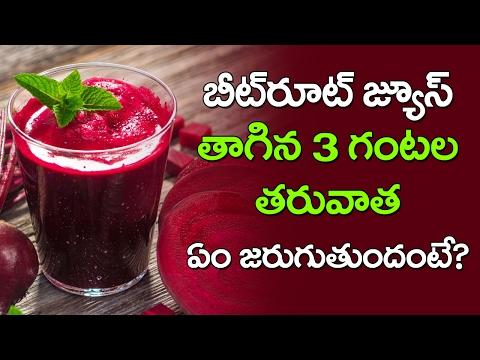 AMAZING Benefits of Beetroot Juice for Health and Skin | Latest News and Updates | VTube Telugu