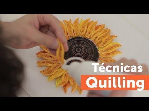 Técnicas de quilling
