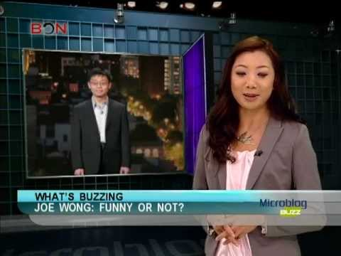 Comedian Joe Wong: Funny or Not?-Microblog Buzz April 9-BONTV