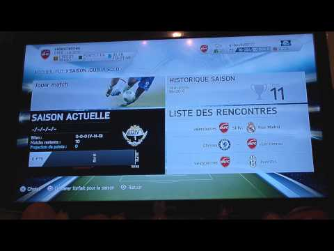 comment debloquer recommencer match fifa 15
