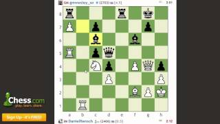 GM Wesley So ~ IM Danny Rensch: (Blitz with World's Elite!)