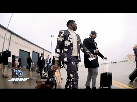 Titans on the Road at New England