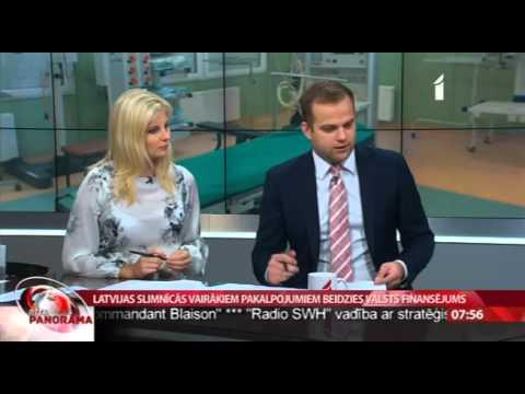 """Veselības ministra Dr. Gunta Belēviča intervija LTV1 """"Rīta Panorāma"""""""