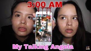 Video SEREM! Main Talking Angela jam 3 pagi MP3, 3GP, MP4, WEBM, AVI, FLV Agustus 2018