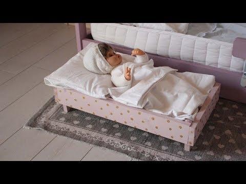 Come fare un letto per le Bambole -  Fai da te