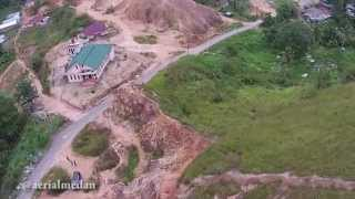 Padang Sidempuan Indonesia  City pictures : Aerial View Padang Sidempuan City from The Sky