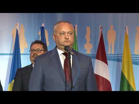 Igor Dodon a participat la recepția oferită de Delegația Uniunii Europene în Republica Moldova cu ocazia Zilei Europei