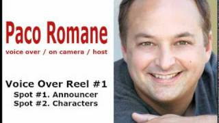 Voice Over Reel 1